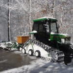 Yes, we have our own groomer to keep trails in shape