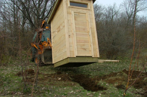 Delivering Outhouse