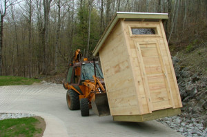 Moving Outhouse