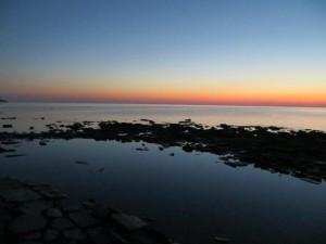 Sunrise over Georigan Bay