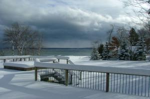 Welcome Winter from next door